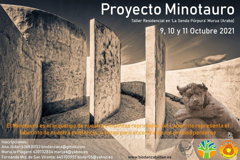 Proyecto Minotauro Loratu Escuela de Biodanza de Bilbao Pais vasco 2021